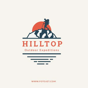 Outdoor company logo