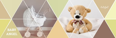 Email header for bear and kid