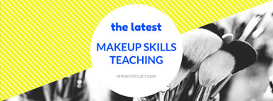 Makeup skill Facebook cover photo template