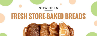Bakery opening food facebook cover