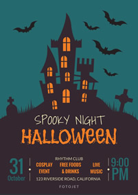 halloween flyers design your own halloween flyers online for free