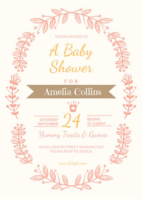 Engagement Invitation Bridal Shower