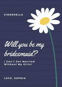 Bridesmaid Invitation Maker Create Bridesmaid Invitations