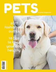 Pet magazine cover