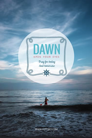 Dawn Pinterest graphic