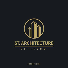 design real estate logos online for free fotojet