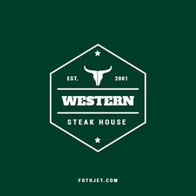 Steak restaurant logo