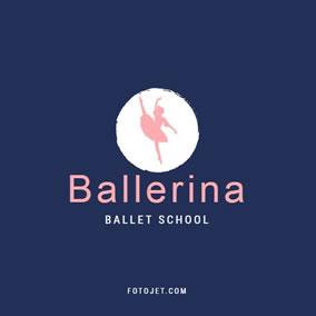university logo school logo high school logo ballet school logo