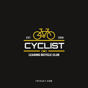 Bicycle club logo