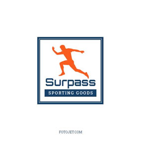 Sports product logo