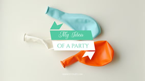 Party Idea YouTube Channel Art