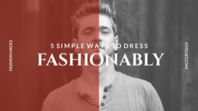 Fashion dress fashionably YouTube thumbnail