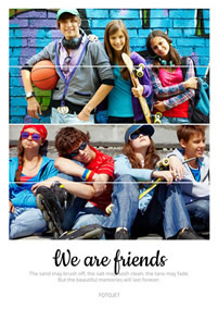 Best Friend Collage Maker Make Best Friend Collages Online Fotojet