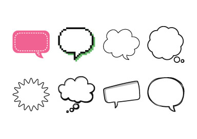 Clipart speech bubble