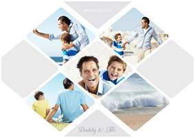 Fathers Day photo grid
