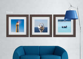 Landscape wall collage