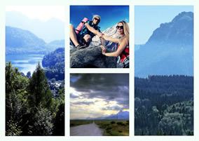 Landscape Collage