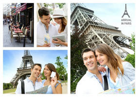 Paris photo collage