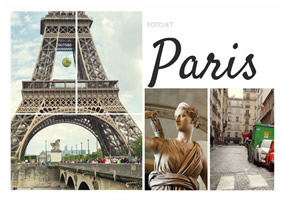 Paris photo grid