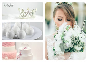 Wedding photo grid