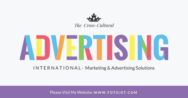 International Marketing Facebook Ad Template