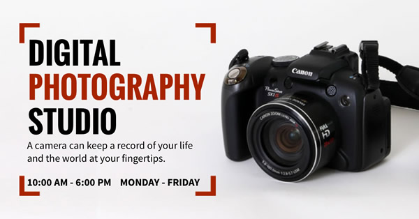 Photography Studio Facebook Ad Template