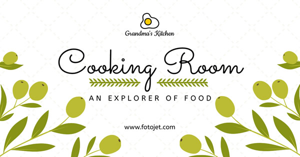 Cooking Room Facebook Ad Template
