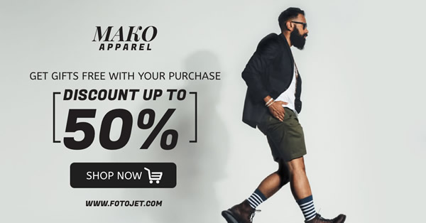 Fashion Apparel Facebook Ad Template