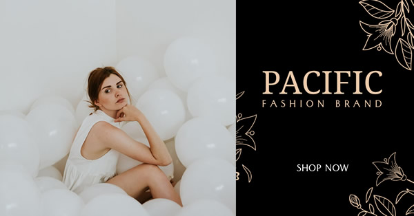 Fashion Brand Facebook Ad Template