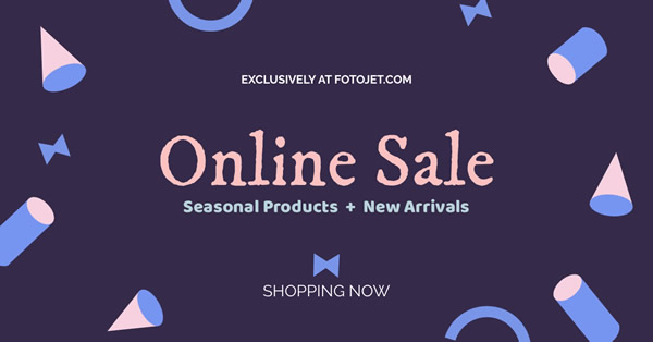 Online Sale Facebook Ad Template