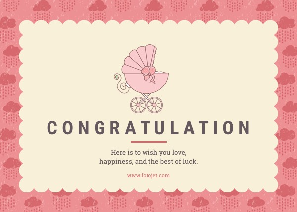 congratulations card template