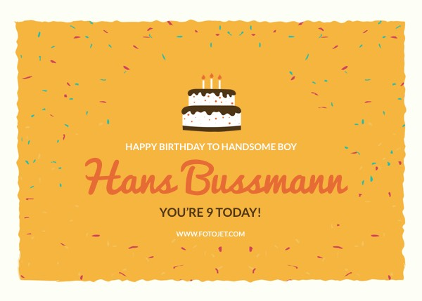 Birthday card maker design printable birthday cards online fotojet happy 21st birthday greeting card template birthday greeting card bookmarktalkfo Images