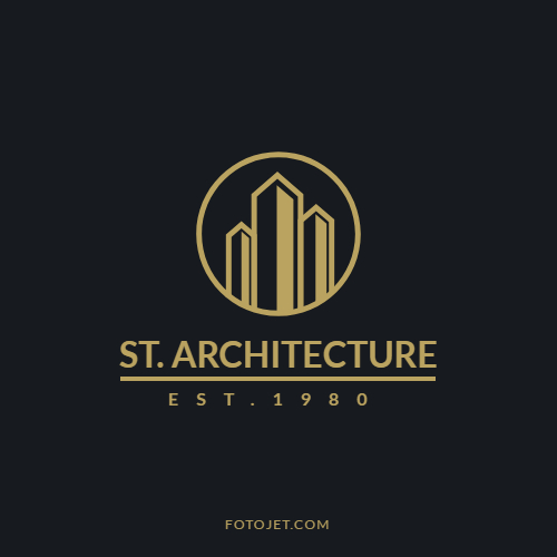 Architecture Construction Company Logo Template