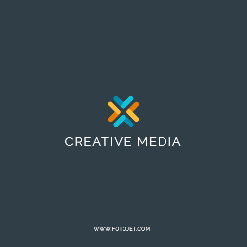 Creative Media Company Logo Design Template