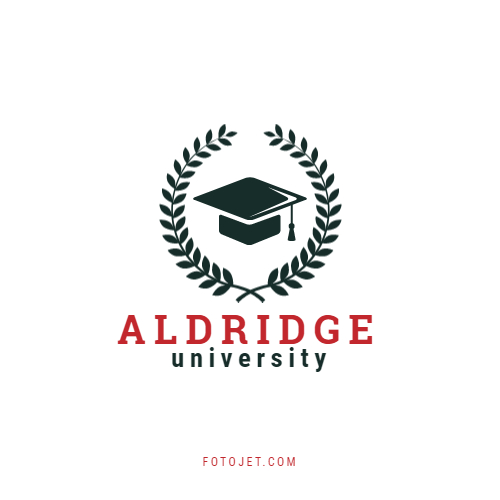Branch and Mortarboard University Logo Template