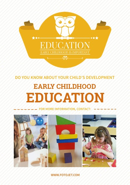 '.Early Childhood Education Poster.'