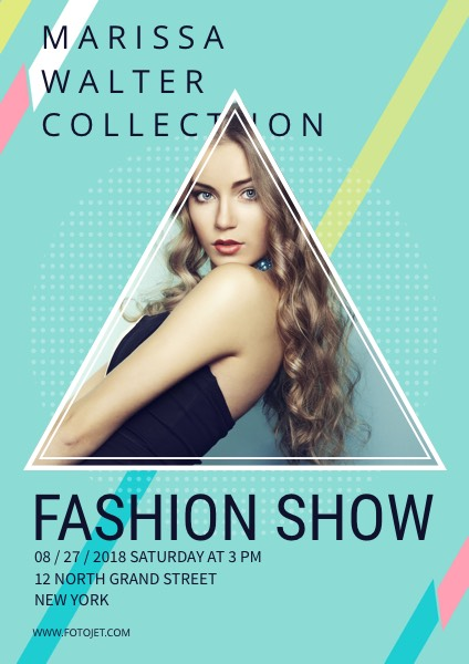 '.Fashion Show Event Poster Design Template.'