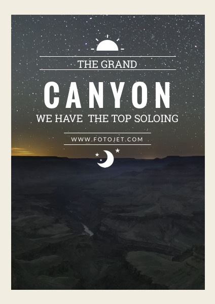 Grand Canyon Adventure Tour Travel Poster