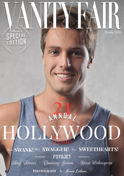 Personalized Vanity Fair Magazine Cover