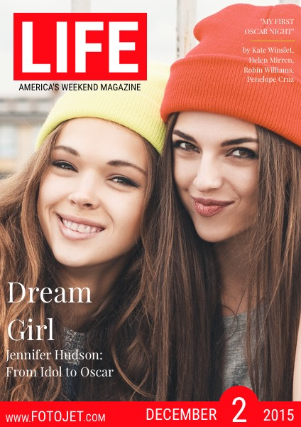 Friendship Photo Life Magazine Cover Design