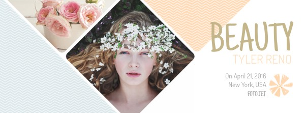 '.Beauty and Flower Facebook Cover Template.'