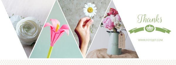 Flower Facebook Cover Photo Template