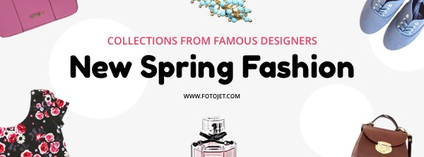 Spring Fashion Facebook Cover Photo Template