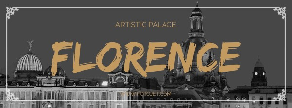 Florence Travel Facebook Cover Photo Template