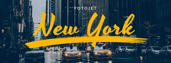 '.New York Facebook Cover Photo Template.'