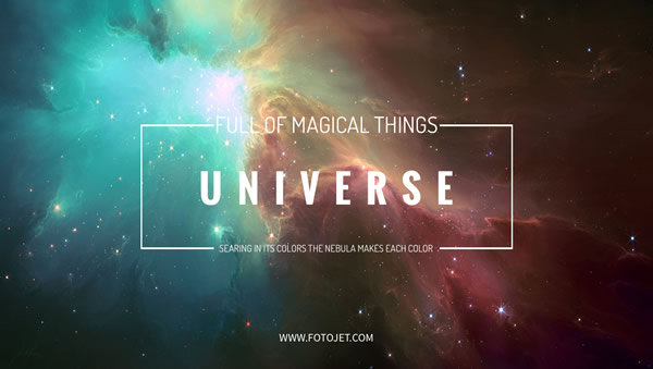 Universe Google Plus Cover Photo Template