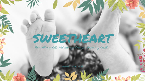 Sweetheart Google Plus Cover Photo Template