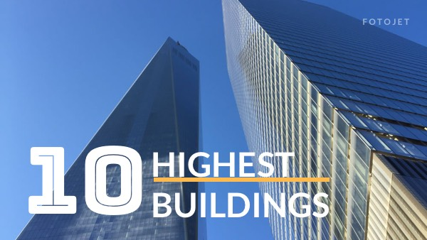 Highest Building YouTube Thumbnail Template