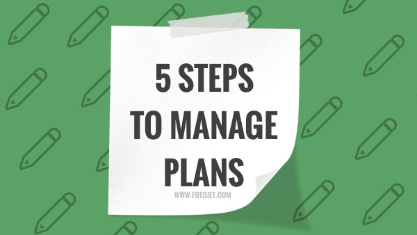 Plan Management YouTube Thumbnail Template
