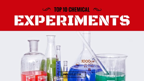 Chemical Experiment YouTube Thumbnail Template